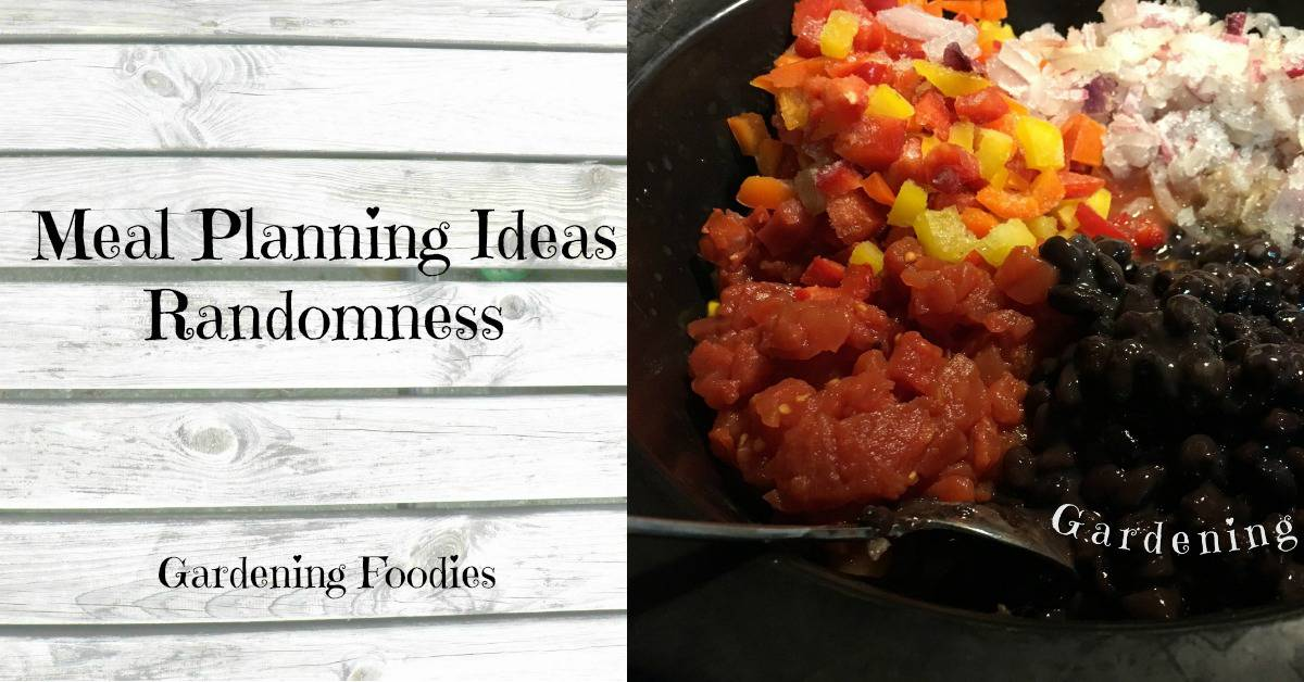 Meal Planning Ideas – Miscellaneous (other)