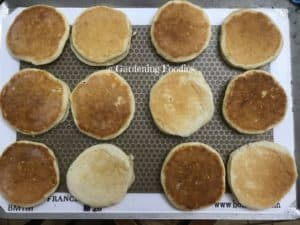 easy to go breakfast with homemade pancakes